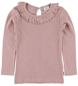 Hust and Claire Bluse - Adalina - Rib - Rosa