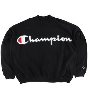 Champion Fashion Bluse - Sort m. Logo