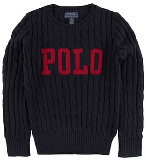 Polo Ralph Lauren Striktrøje - Summer II - Navy m. Logo