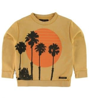 Finger In The Nose Sweatshirt - Brian - Mustard Sunset