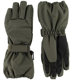 Wheat Handsker - Technical - Army Leaf