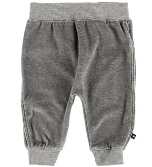 Molo Sweatpants - Steinbjorn - Grey Melange