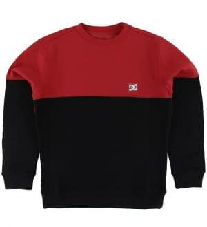 DC Sweatshirt - Rebel - Rød/Sort