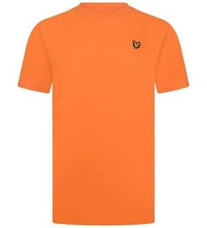 Lyle & Scott T-shirt - Russet Orange m. Logo