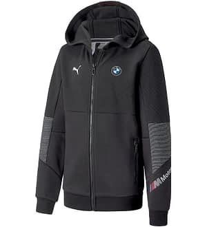 Puma x BMW Cardigan - Sort m. Ribber