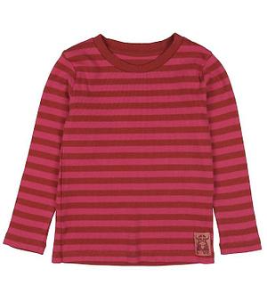 Danefæ Bluse - Coco - Rust Red/Love Pink