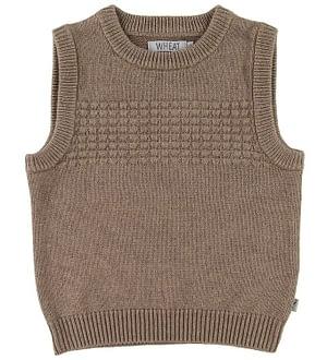 Wheat Vest - Sailor - Uld/Bomuld - Camel Melange