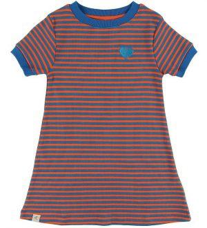 AlbaBaby Kjole - Vida - Orange.com Magic Stripes