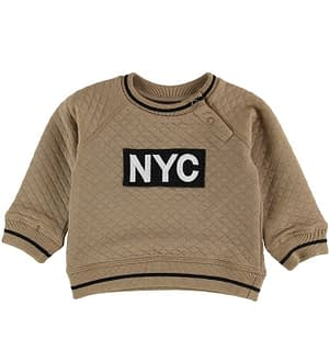 Petit by Sofie Schnoor Bluse - Quilted - Tan m. NYC