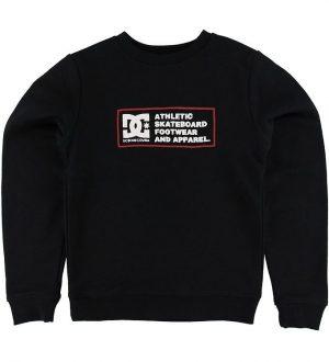 DC Sweatshirt - Sketchy Zone - Sort m. Print