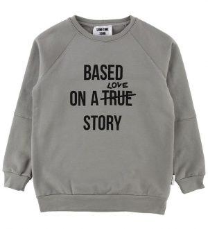 Sometime Soon Sweatshirt - True - Grå m. Print