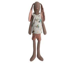 Medium Bunny i undertøj, brun (dreng)