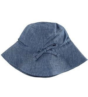 Huttelihut Bøllehat - Bucket - Denim Blue