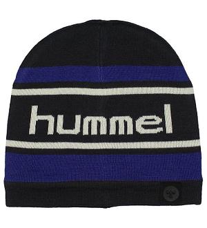 Hummel Hue - Rob - Uld/Polyester - Sort/Blå/Hvid
