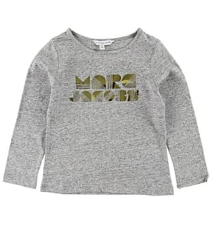 Little Marc Jacobs Bluse - Gråmeleret m. Guld