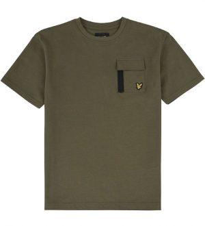 Lyle & Scott T-shirt - Grape Leaf m. Lomme