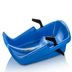Twister Bobslæde / Kælk med håndbremser, Blå