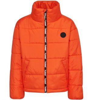 Hummel Teens Vinterjakke - HMLNorth - Orange