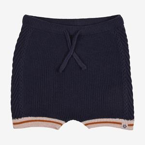 PAPFAR Strikket shorts - Blue Nights - 74/80