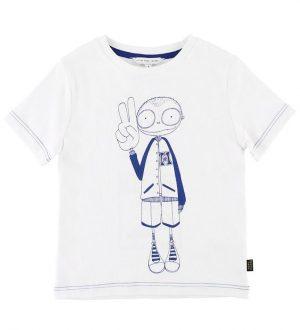 Little Marc Jacobs T-shirt - Hvid m. Dreng