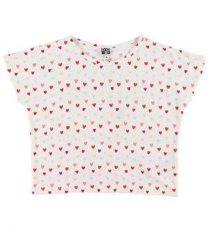 Bonton T-shirt - Coeur Blanc