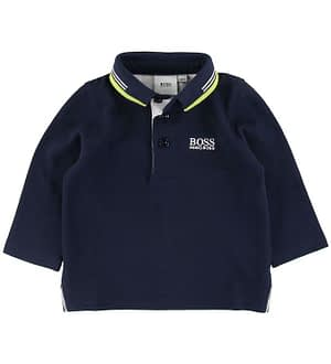BOSS Polo Bluse - Essentiel 1 - Navy
