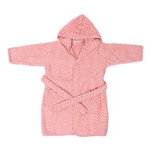 Badekåbe - Zigzag Rose (3-4 år)