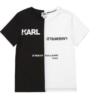 Karl Lagerfeld T-shirt - Sort/Hvid