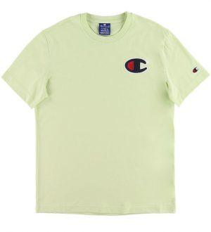 Champion Fashion T-shirt - Pastelgrøn m. Logo