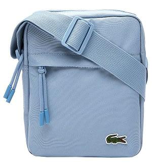 Lacoste Skuldertaske - Vertical Camera Bag - Powder Blue