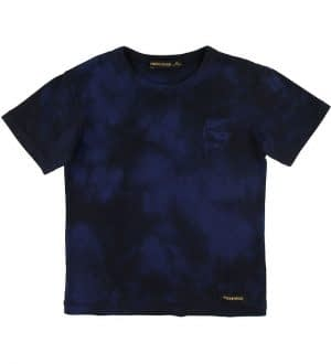 Finger In The Nose T-shirt - Kid - Navy Tie & Dye