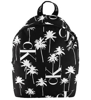 Calvin Klein Rygsæk - Palm - Sort m. Palmer