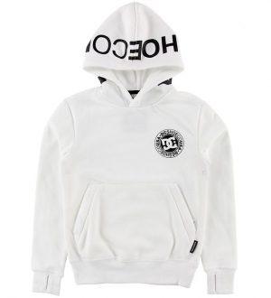 DC Hættetrøje - Snowstar - Hvid m. Logo