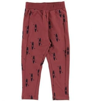 Gro Sweatpants - Lotus - Burgendy