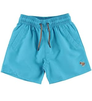 Paul Smith Junior Badeshorts - Titan - Turkis m. Farveskift