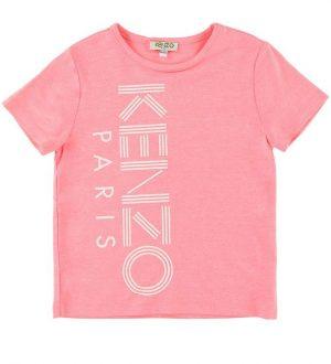 Kenzo T-shirt - Sport Line Logo - Neon Pink