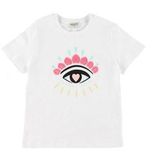 Kenzo T-shirt - Jain - Hvid m. Øje