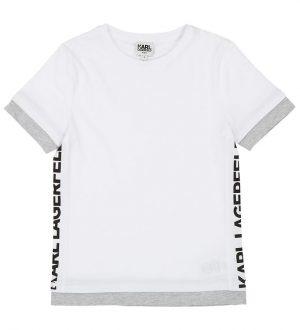 Karl Lagerfeld T-shirt - Hvid m. Print