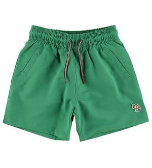 Paul Smith Junior Badeshorts - Titan - Grøn m. Farveskift
