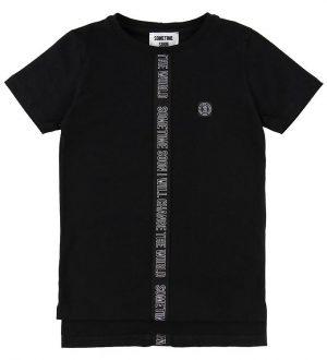 Sometime Soon T-shirt - Monument - Sort m. Skrift
