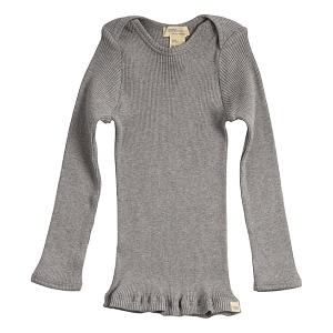 Minimalisma Belfast Bluse - Grey Melange