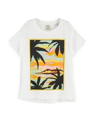 Scotch & Soda T-shirt - Hvid
