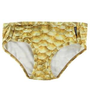 Molo Bikini Trusser - UV40+ - Nicole - Gold Fishshell