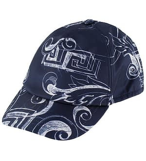 Young Versace Kasket - Navy m. Print