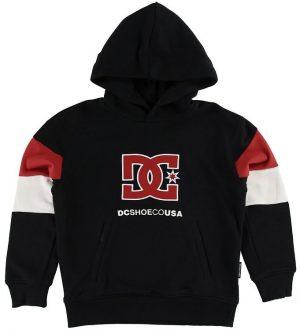 DC Hættetrøje - Kirtland - Sort m. Logo