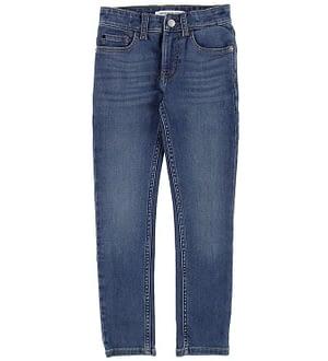 Calvin Klein Jeans - Skinny Luxe - Blå Denim