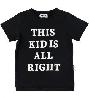 Sometime Soon T-shirt - Houston - Sort m. Tekst