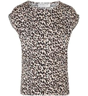 Rosemunde T-shirt - Brown Leopard Print