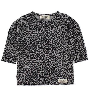MarMar Bluse - Grå Leopardprint
