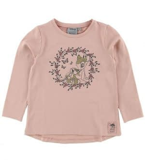 Wheat Disney Bluse - Bambi and Thumper - Misty Rose